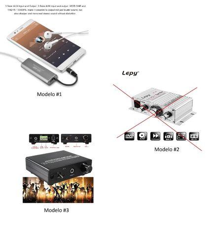 Amplificador Audio HiFi 2 canais Classe-D Lepy LP 808