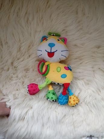 Игрушка кот говорящий в коляску, в кроватку