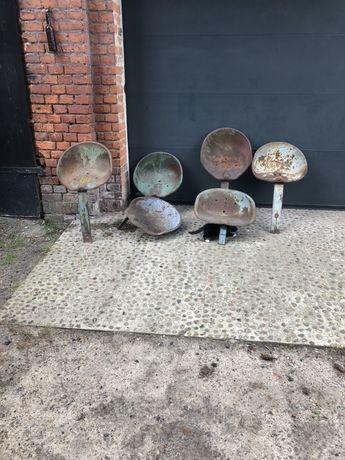 Metalowe siedzenie Loft industrial