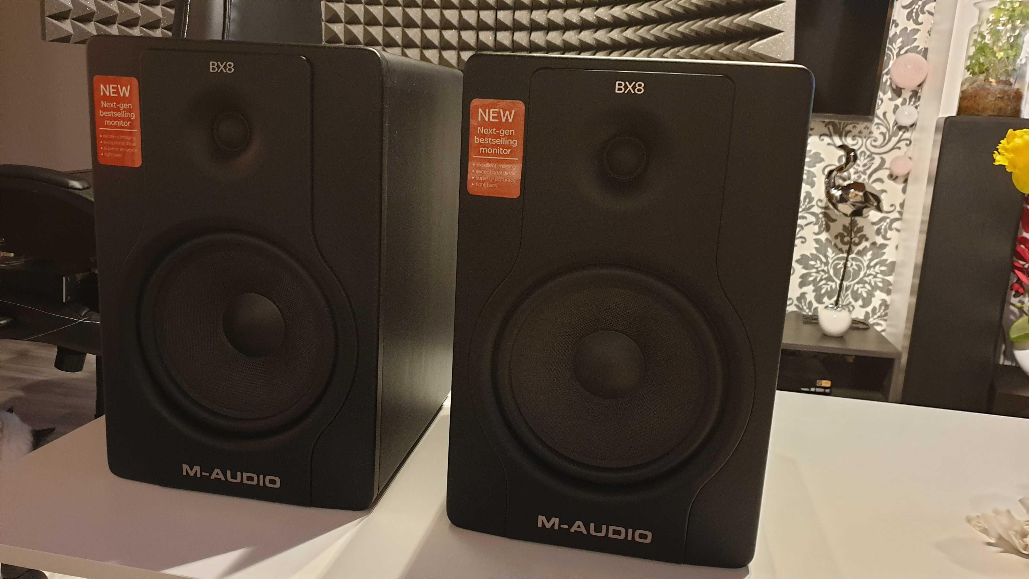 Monitory studyjne M-Audio BX8 D2  okazja!!!
