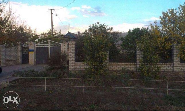Продам частный дом с участком и хоз. постройкам, возле Херсона.
