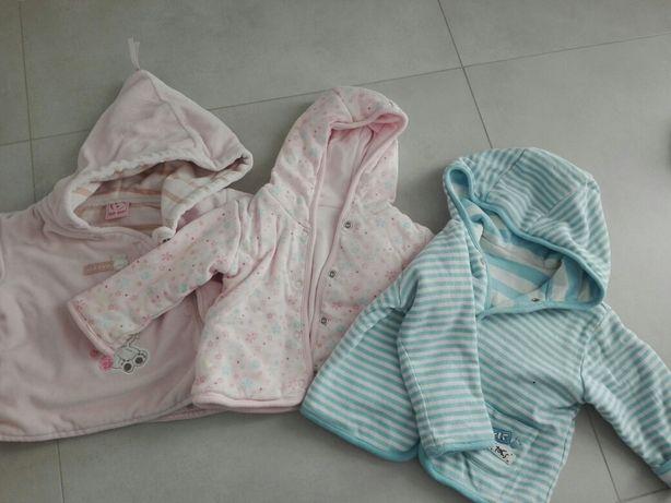 Kurteczki dla niemowlaka rozmiar 56-68