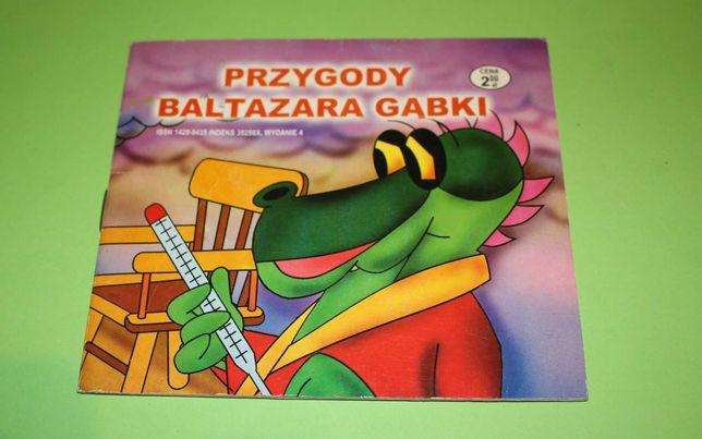 książeczka PRZYGODY BALTAZARA GĄBKI - grypa Kolporpress