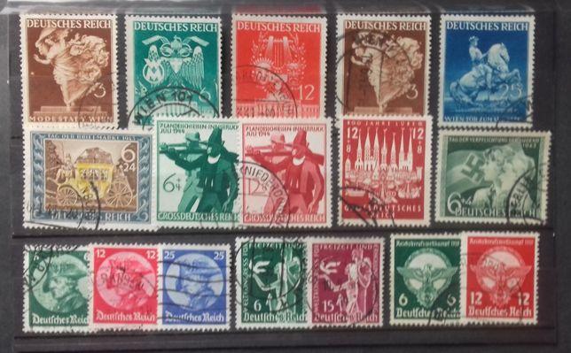 znaczki niemieckie DR zestaw 1933-44