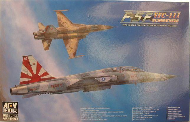 Сборная модель самолета F-5F VFC-111 Sundowners 1:48 AFV Club 48103