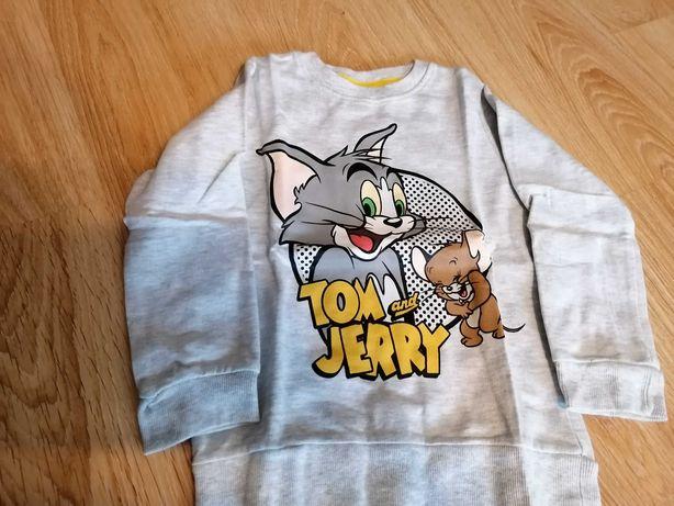 Lekka bluza Tom i Jerry, 110cm