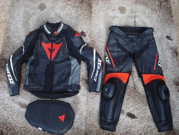 Dainese G Super speed 48 - 46 S XS Kombinezon motocyklowy + zółw