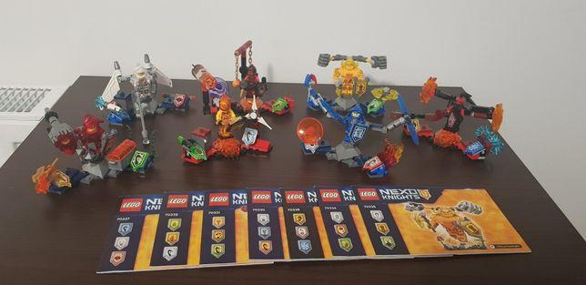 Lego Nexo Knights 7 zestawów