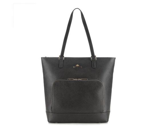 Wittchen shopper damski torba skóra licowa czarna