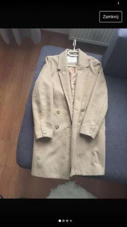 płaszcz płaszczyk beżowy