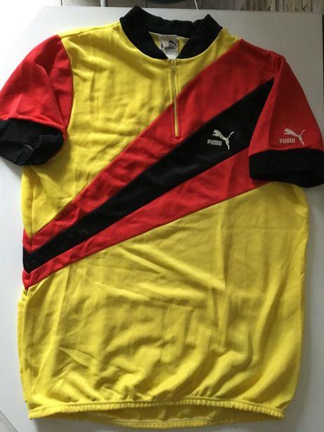Koszulka rower triathlon L puma retro vintage