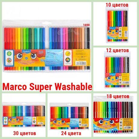 Фломастеры Marco Super Washable №1690 Разная комплектация