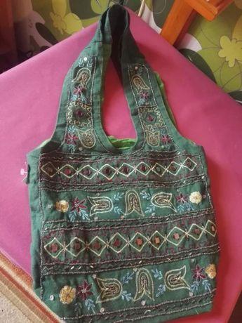 Cudowna torebka z Indii. Naturalna i ekologiczna!