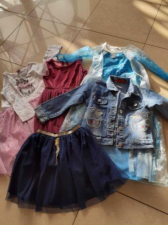 Sukienki, katana dla dziewczynki