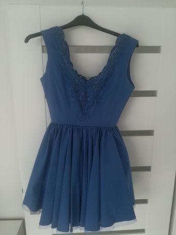 Sukienka LOU niebieska