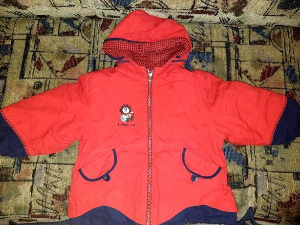 Осень - зима детская куртка для девочек