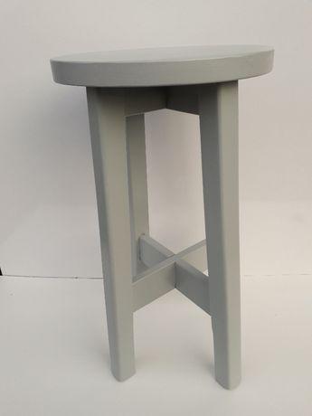 Taboret drewniany od 60 cm - biały,szary,brąz i inne-NOWY-hoker-sosna