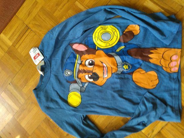 koszulki psi patrol hm nowe 134/140
