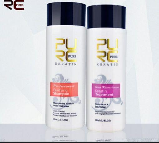 Кератиновое выравнивание волос. Восстановление 270грн. 100мм(1шт.)