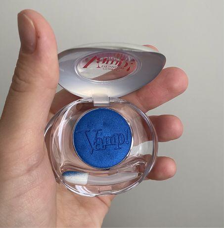Pupa vamp! итальянские синие тени в оттенке 301