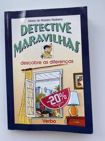 """Livro Detective Maravilhas """"Descobre as Diferenças"""""""