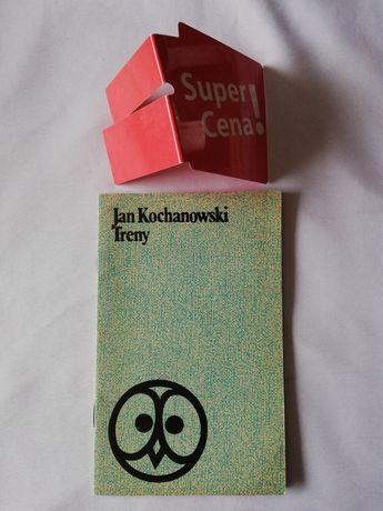 """książka """"treny"""" Jan Kochanowski"""
