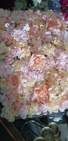 Panel kwiatowy 40x60 ścianka kwiaty