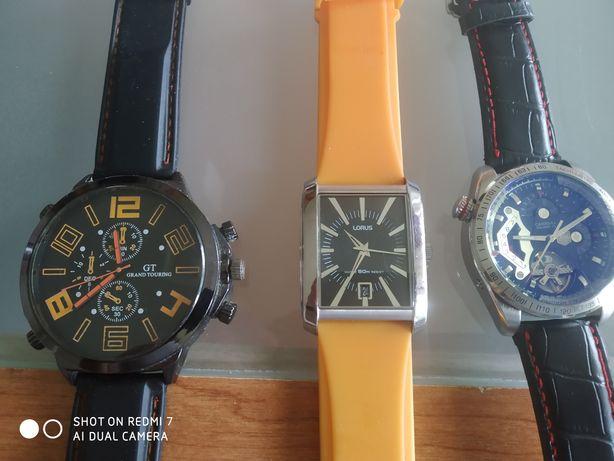 Zamienię trzy zegarki
