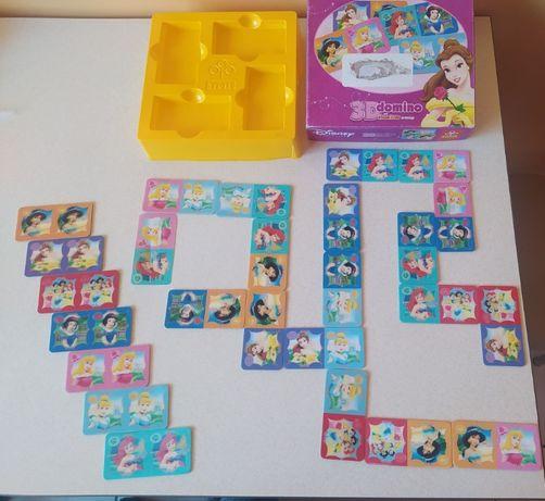 Domino 3D Księżniczki Disney Trefl Z002