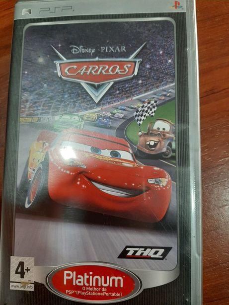 Jogo PSP Carros