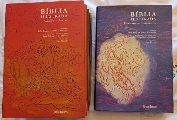 Bíblia Ilustrada 8 Volumes