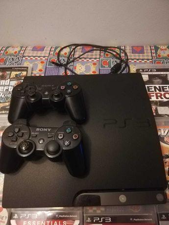 Konsola PS3 caly zestaw 12 gier 2 pady! Full pakiet
