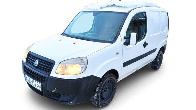 Rezerwacja/zaliczka - FIAT DOBLO 2006r. 1.9 diesel, dostawczy, vat-1