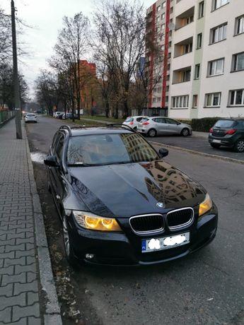 BMW 3 E91 LCI 318d N47 Black Sapphire 2008 krajowy