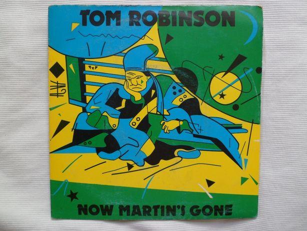 "Tom Robinson ""Now Martin's Gone"" 7"" single"