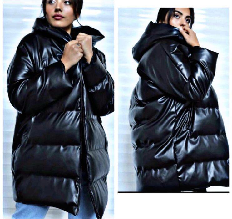 Зимова куртка з екошкіри Ровно - изображение 1