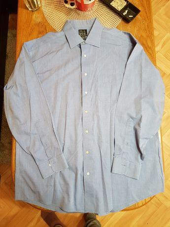 Koszula niebieska/błękitna J°Ś A. BANK made in hong kong Xl