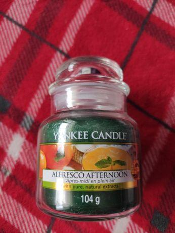 Nowa mała świeca Yankee Candle Alfresco Afternoon 104 g