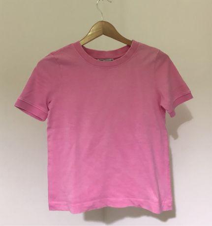 T-shirt básica rosa da Zara