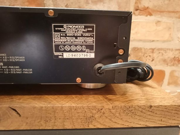 Sprzedam wzmacniacz stereo Pioneer A229
