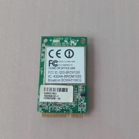 Karta sieciowa WiFi Broadcom model BCM94311MCG