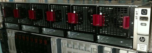 Сервер HP DL560p Gen8 4 CPU E5-4650L 32/64 ядра 2,6-3,2Ghz 192GB RAM