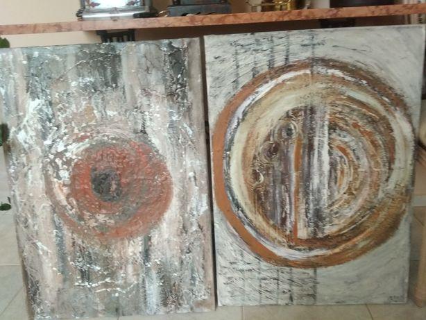 Obraz malowany olejny na płótnie