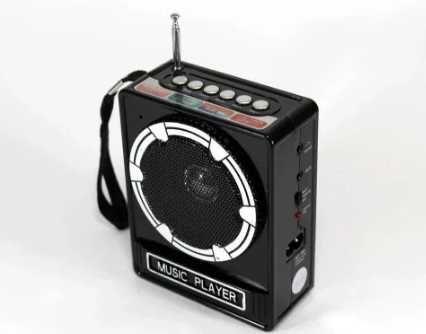 Супер Радиоприемник FM портативная колонка USB SD