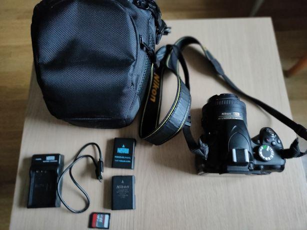 Nikon D3200 body + obiektyw Nikon AF-S Nikkor 35mm 1:1.8G Gratisy !!