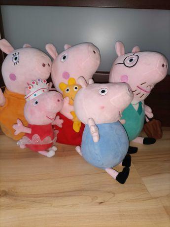 Świnka Peppa cała rodzina