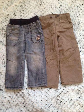 Утепленные штаны на мальчика на 1,5 года