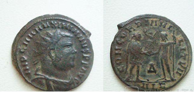 Монета Максимиан Геркулий, антониниан CONCORDIA MILITVM