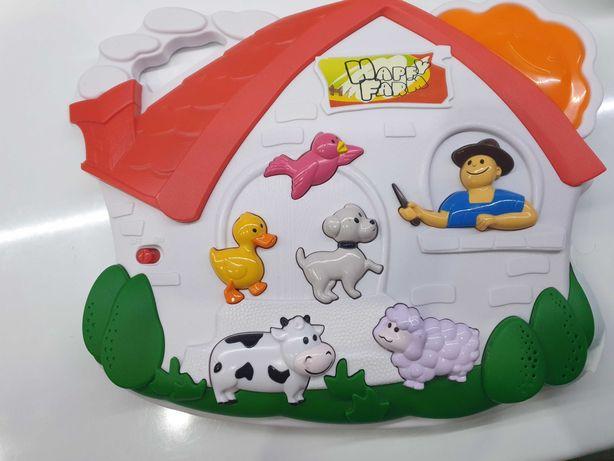 Happy farm zabawka naśladująca głosy zwierzat