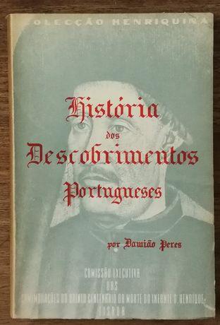história dos descobrimentos portugueses, damião peres, henriquina